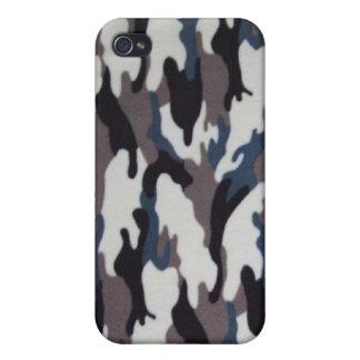 militares, camuflaje i del invierno del ejército iPhone 4 funda