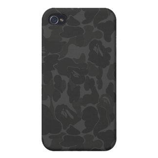 militares, camuflaje i del mono del ejército iPhone 4 funda