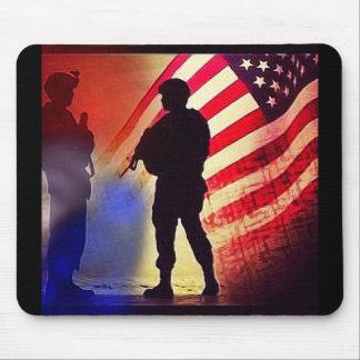 Militares de Estados Unidos Alfombrilla De Ratón