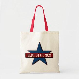 Militares de la mamá de la estrella azul bolsa tela barata