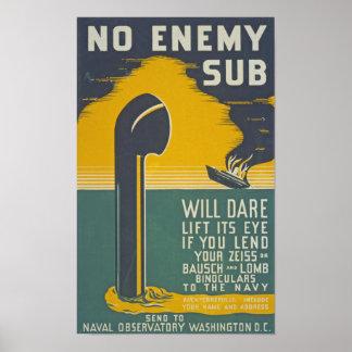 Militares de reclutamiento del vintage de la póster