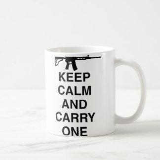 Militares/ejército divertido taza de café