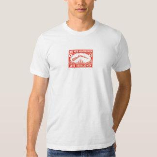 Militarismo de Noruega/vintage noruegos del Camiseta