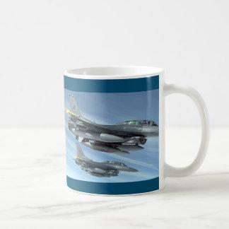 Military aircraft taza de café
