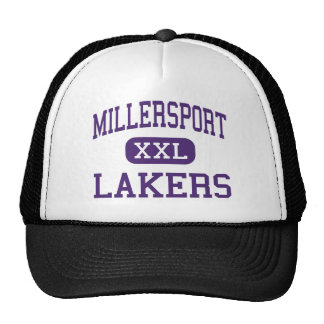 Millersport - Lakers - altos - Millersport Ohio Gorras De Camionero