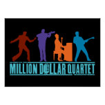Millón de cuartetos del dólar en etapa poster
