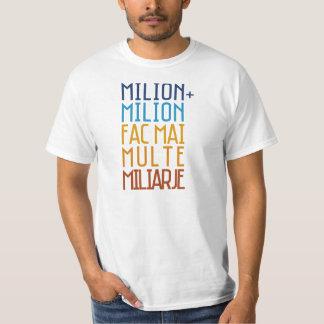 Millón de gitanos del rumano de la camiseta