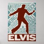 Millón de tipos de Elvis del cuarteto del dólar Impresiones