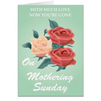 Mimar a domingo tarjeta de felicitación