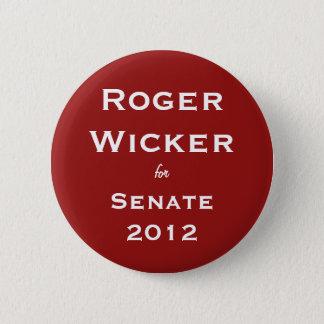 Mimbre de Rogelio para el senado 2012 Chapa Redonda De 5 Cm