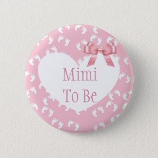 Mimi a ser botón rosado de la fiesta de bienvenida