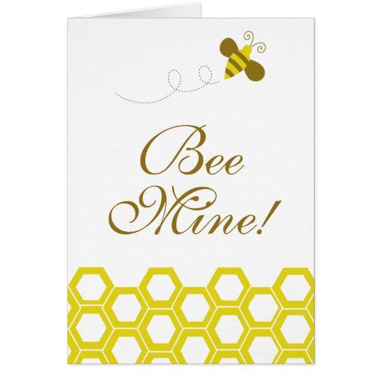 ¡Mina de la abeja! Tarjeta Pequeña