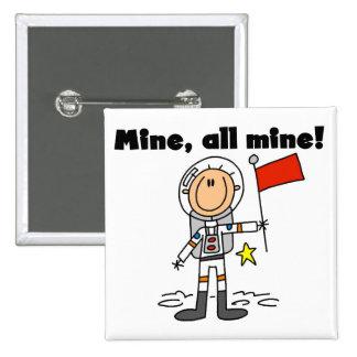 Mina del astronauta todas las camisetas y regalos  pins