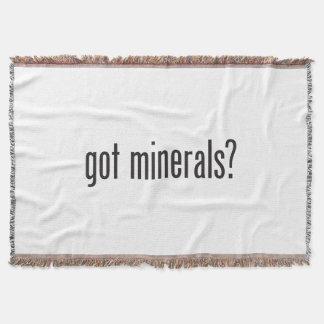 minerales conseguidos manta