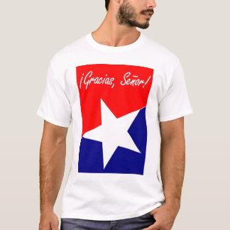 ¡Mineros chilenos Gracias, Señor! ESPAÑOL del 95:4 Camiseta