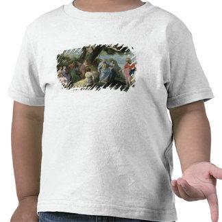 Minerva con las musas camiseta