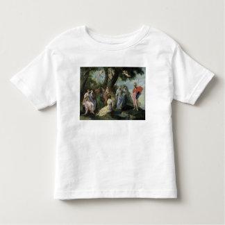 Minerva con las musas camiseta de bebé