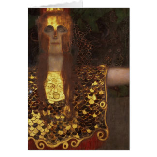 Minerva o Pallas Athena Tarjeta