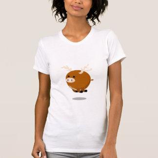 mini-alces camisetas