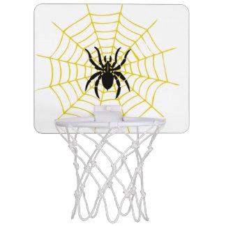 mini aro de baloncesto de la araña