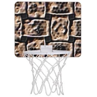 Mini aro de baloncesto - efecto del ladrillo
