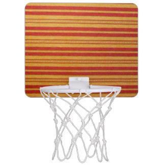 Mini aro de baloncesto - rayas descoloradas -