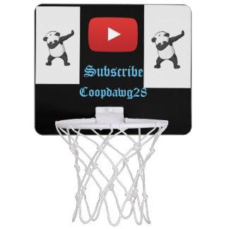 Mini aro youtube del baloncesto
