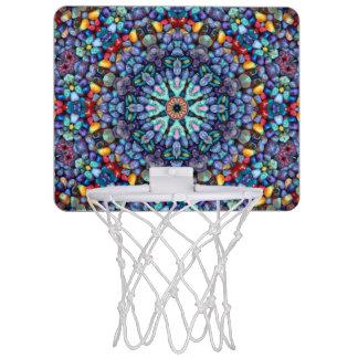 Mini aros de baloncesto de la maravilla de piedra