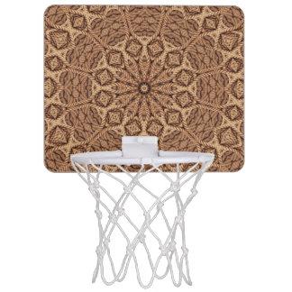 Mini aros de baloncesto torcidos de la cuerda
