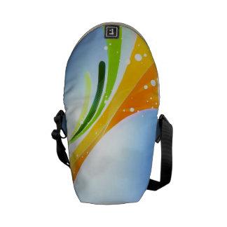 Mini bolso abstracto bolsa de mensajeria