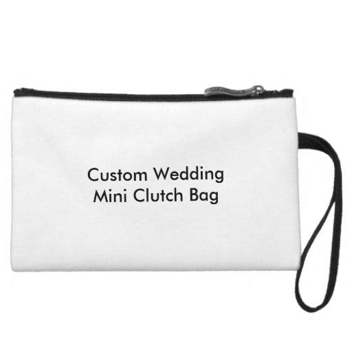 Mini bolso de embrague del boda de encargo