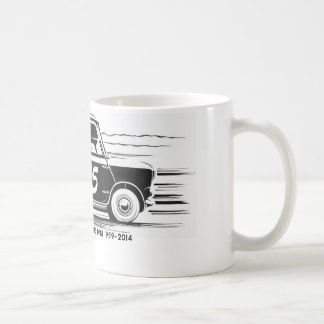 Mini camiseta clásica 55 taza de café