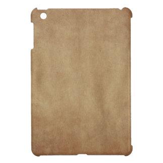 Mini caso de Brown del arte abstracto del iPad