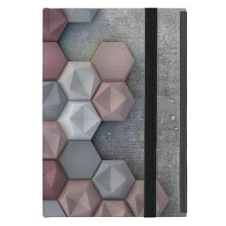 Mini caso del iPad arquitectónico de los hexágonos iPad Mini Cárcasa