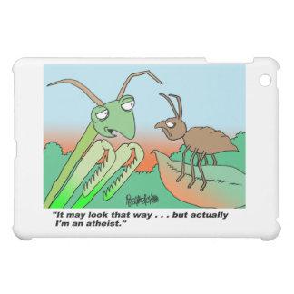 Mini caso del iPad ateo de la mantis religiosa