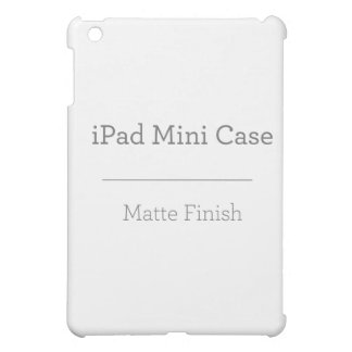 Mini caso del iPad mate de encargo