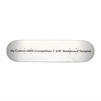 """MINI competencia de encargo 7 3/8"""" plantilla del Tabla De Skate"""