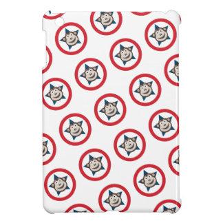 Mini cubierta del iPad estupendo del mono