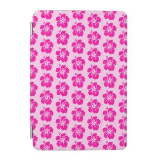 Mini cubierta elegante del iPad hawaiano rosado