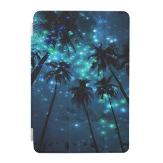 Mini cubierta elegante del iPad tropical verde