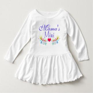 Mini de mamá vestido