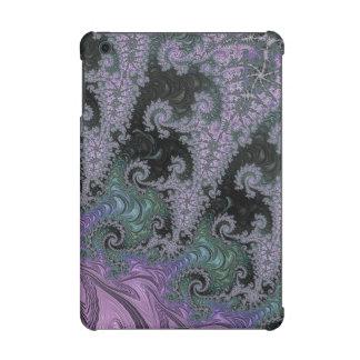 Mini diseño del caso del iPad púrpura del