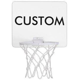 Mini espacio en blanco personalizado personalizado mini tablero de baloncesto