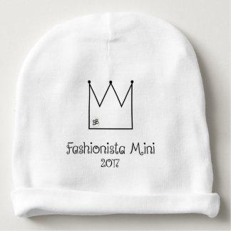 Mini gorrita tejida 2017 del bebé del fashionista gorrito para bebe