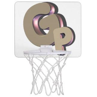 Mini logotipo de la red del baloncesto de GSN Mini Tablero De Baloncesto