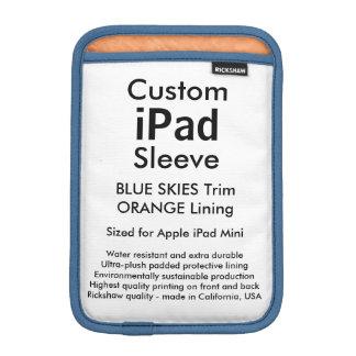 Mini manga del iPad de encargo - (cielos azules y Fundas Para iPad Mini