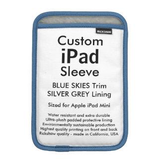 Mini manga del iPad de encargo - cielos azules y Funda iPad Mini