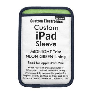Mini manga del iPad de encargo - medianoche y Funda iPad Mini