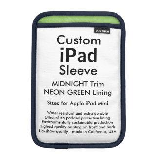 Mini manga del iPad de encargo - (medianoche y Fundas Para iPad Mini