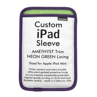 Mini manga del iPad de encargo - (verde Amethyst y Fundas iPad Mini
